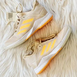 Adidas Adizero Club W Cream & Orange Sneakers 5